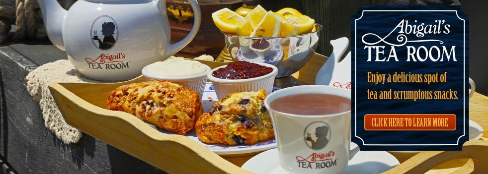 Boston Attractions and Boston Tea Room