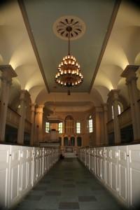 Kings Chapel glorious interior