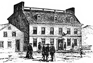 Green Dragon Tavern and Coffee House Boston