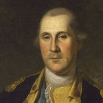 Portrait of George Washington by Charles Wilson Peale circa 1776