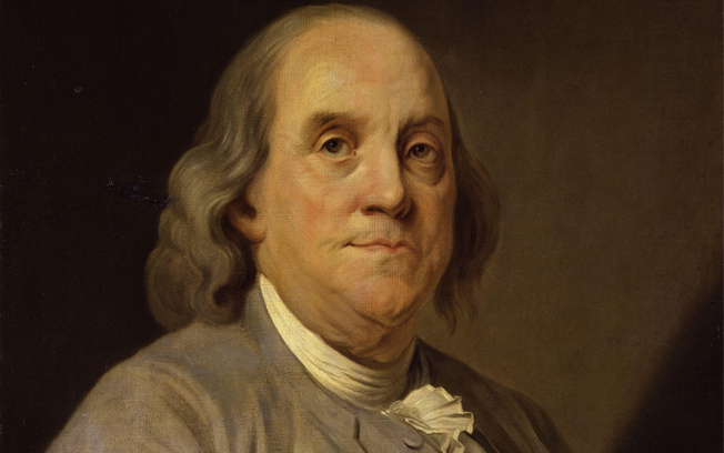 Portrait of Benjamkin Franklin by Joseph Siffrein-Duplessis