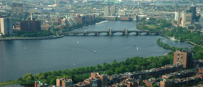 Scenic Views of Boston