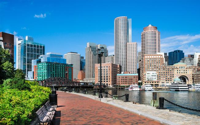 Boston Harborwalk Benches
