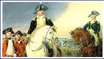 Image of American Revolution Painting