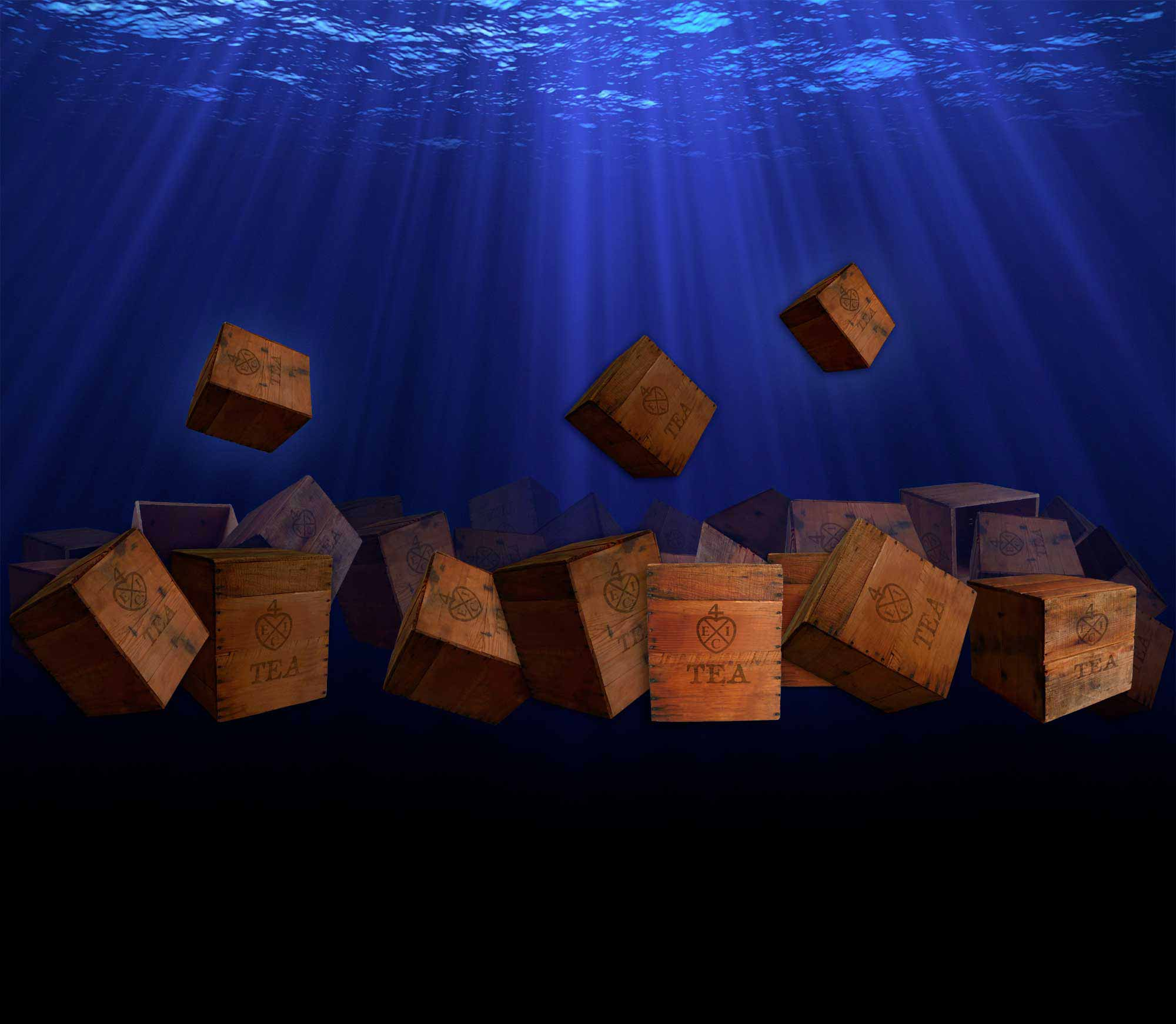 Background Image of Tea Crates