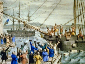 boston harbor tea party