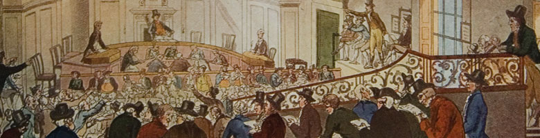 East Indies Tea Auction in London