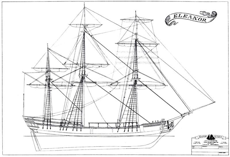 boston tea party ship diagram