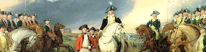 washington in battle