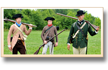 revolutionary war reenactment
