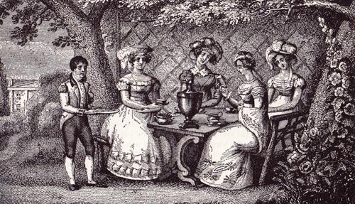 Tea Gardens of London