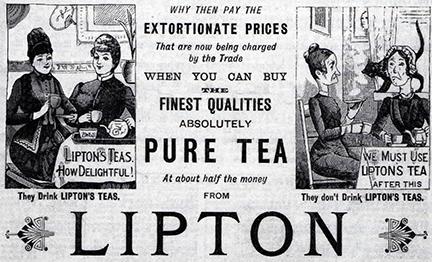liptons advertisement