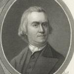 Photo of Patrick Henry, John Hancock, Geo. Washington, Sam Adams, Jas. Madison, Tho. Jefferson [and] Ben Franklin