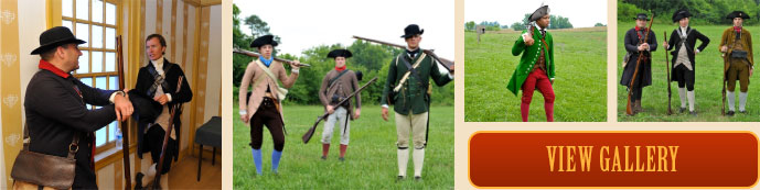 american revolution style view gallery