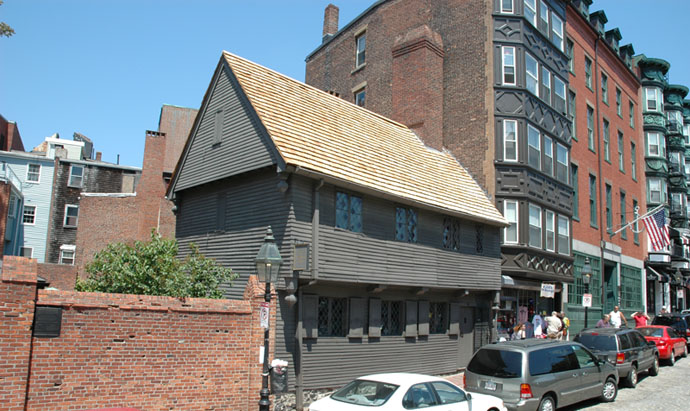 Photo of Paul Revere House in Daylight