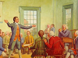 Continental Congress meeting