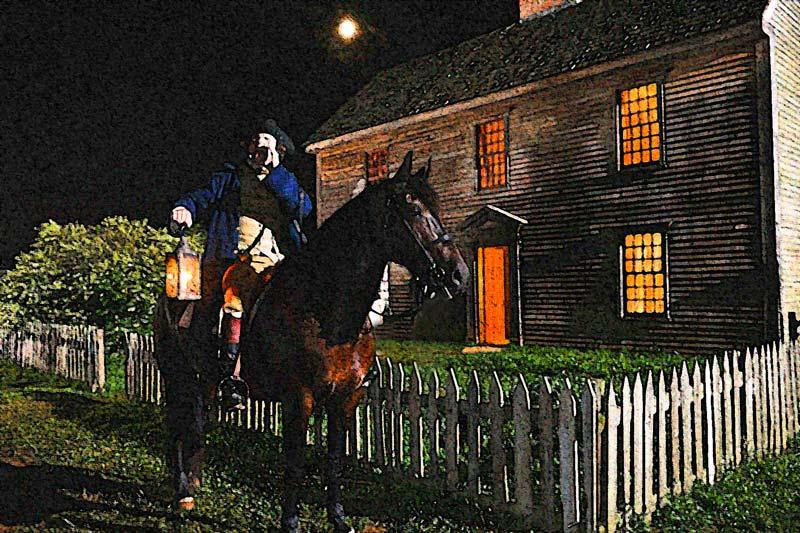 the midnight ride of paul revere paul revere s ride