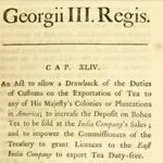 The Tea Act   Boston Tea Party Facts   1773