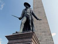 Bunker Hill Monument in Boston