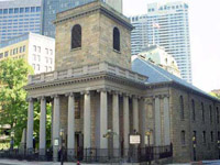 King Chapel in Boston
