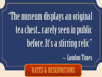 Boston Museum Exhibits Robinson Tea Chest
