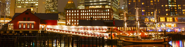 Photo of the Boston Tea Party Museum Outdoor Party Venue