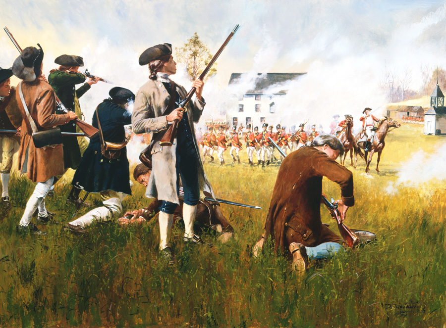 American Revolutionary War Artist Don Troiani -