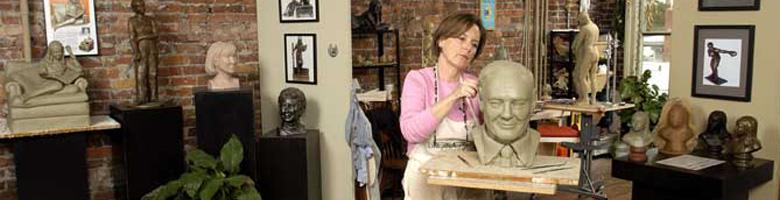 Sculptor Susie Chisholm