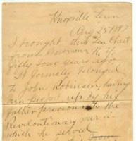 Soloman Letter