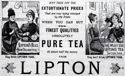 Buy Here Pay Here Ma >> Tea Drinking and Class Distinction - 1890