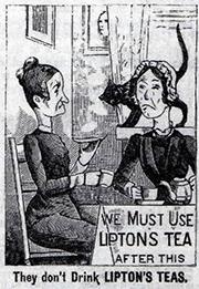 Lipton Tea Comparison Ad
