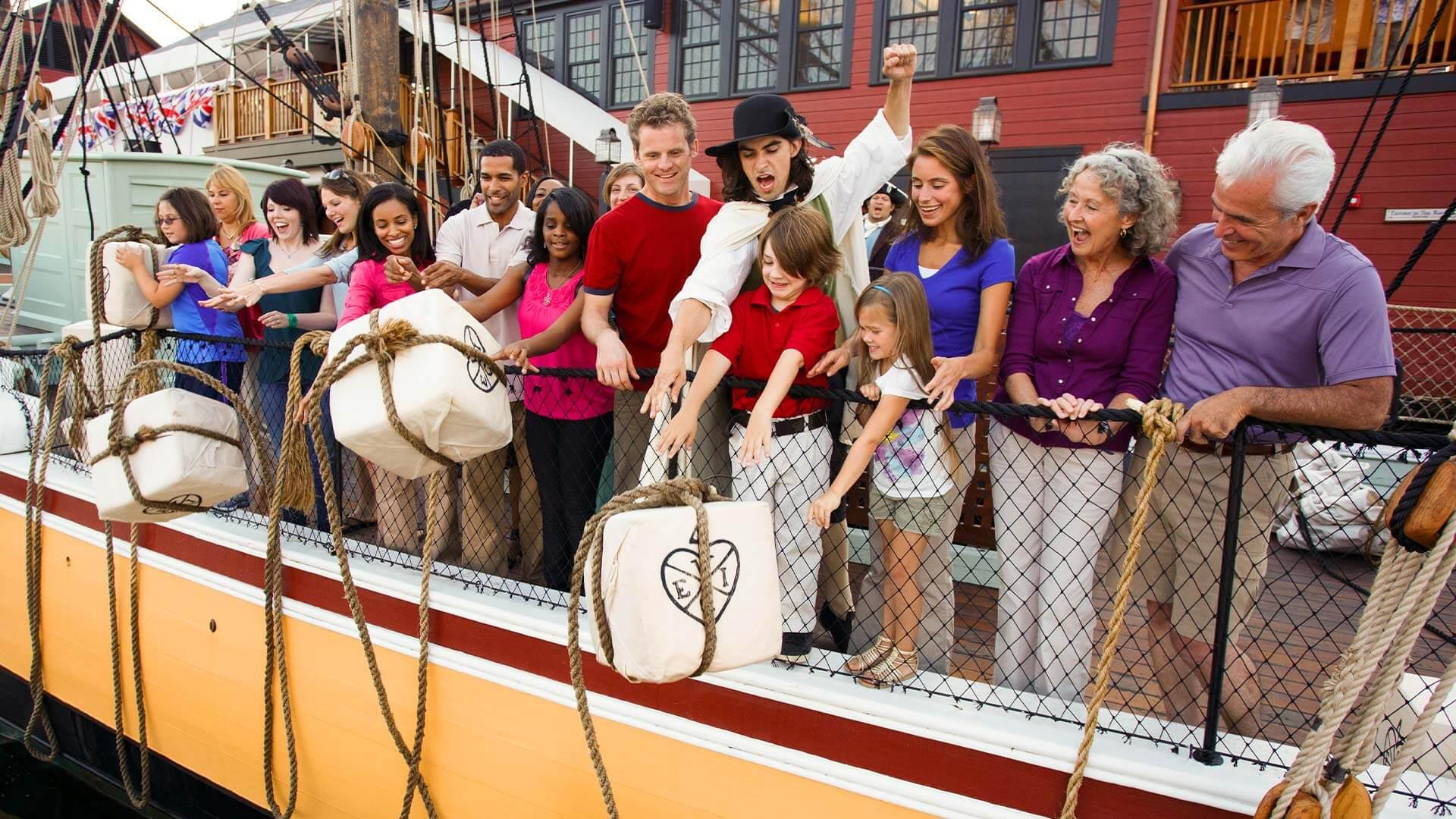 Boston Tea Party Ships Museum Annual Reenactment