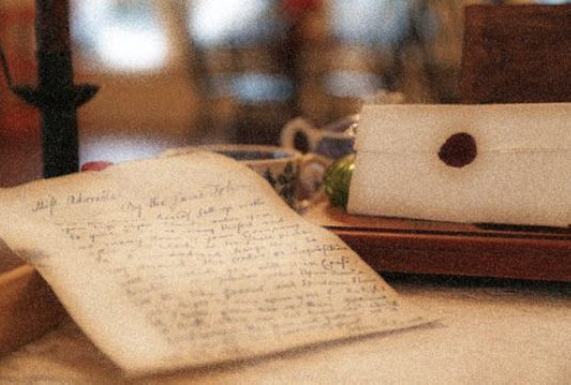 photo of love letters
