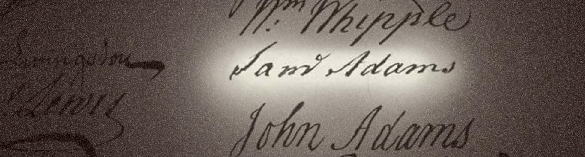 Liberty | Knowledge Speaks  |Declaration Of Independence Signatures John Adams