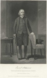 portrait of samuel adams