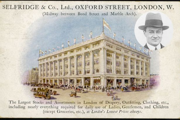 Featured image of Mr. Selfridge took the Marshall Field's Tea Room to London