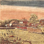 The Battle of Lexington Green, Amos Doolittle, 1775.