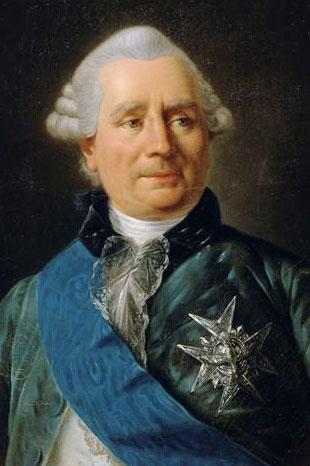 Portrait of French Foreign Minister Comtes de Vergennes