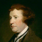 Portrait of Edmund Burke