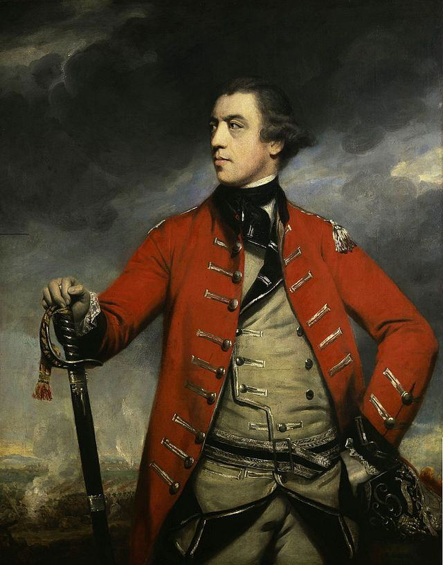 Portrait of General John Burgoyne by Joshua Reynolds