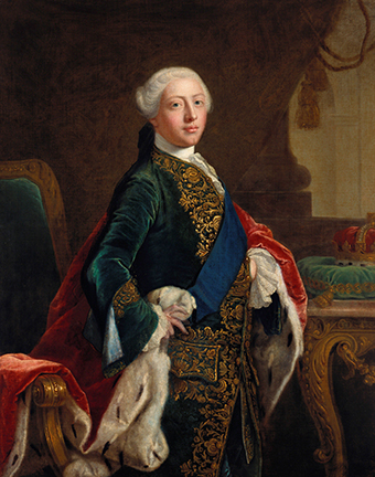 Portrait of George lll when Prince of Wales