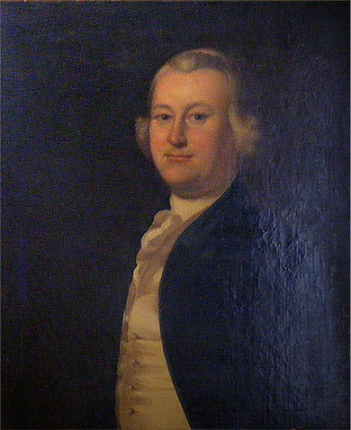 Portrait of James Otis Jr. Boston Attorney