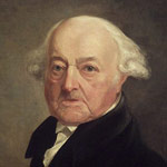 Portrait of John Adams circa 1816