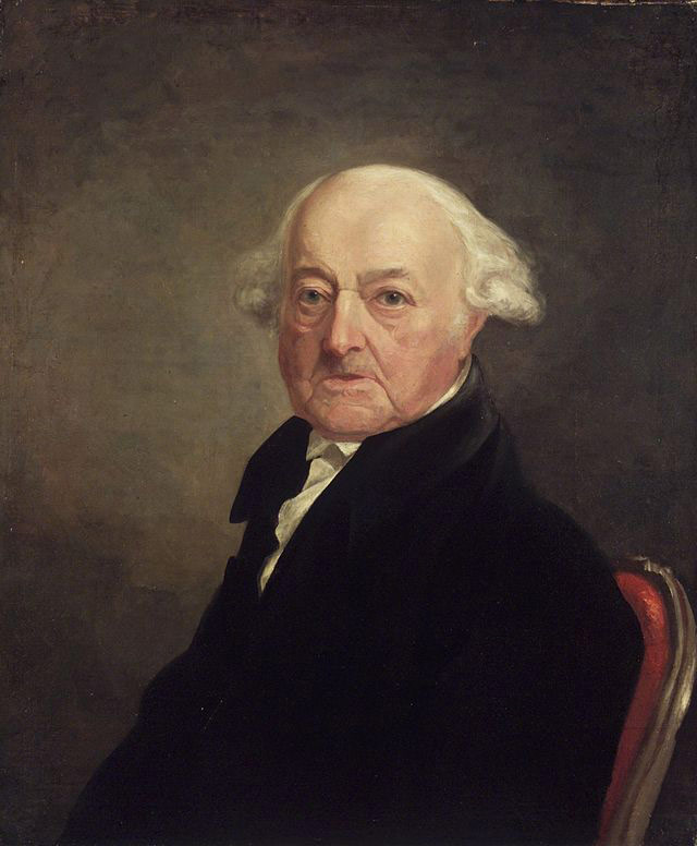 photo of john adams in 1816