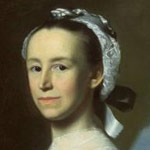 Portrait of Mercy Otis Warren circa 1763