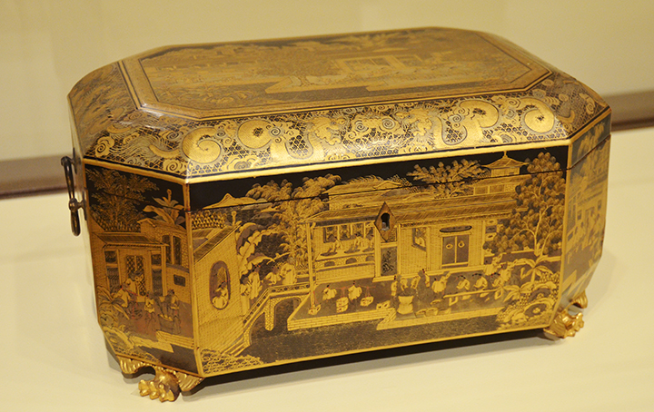 Tea Caddy from 18th century china
