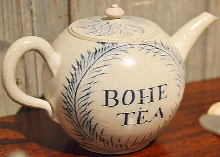 Image of a bohea tea pot