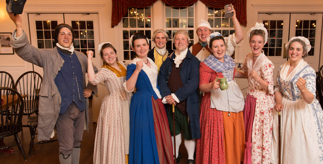 boston tea party ships & museum tavern nights