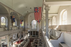 Old North Church Box and Balcony Pews
