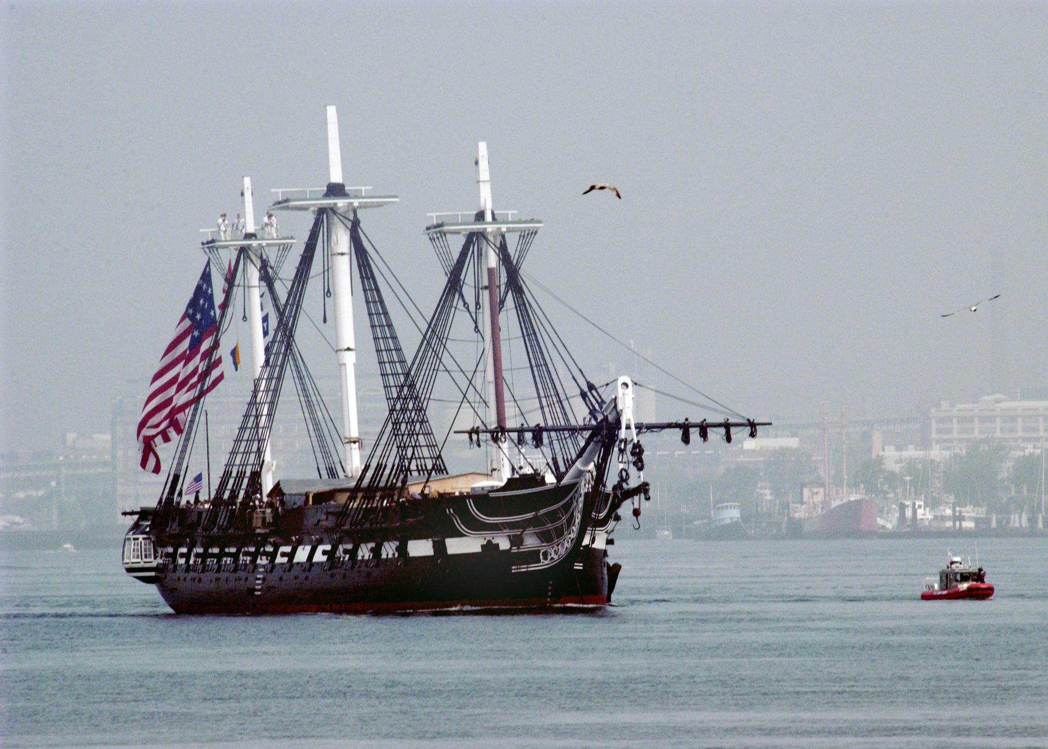Uss Constitution USS Constitution Going...